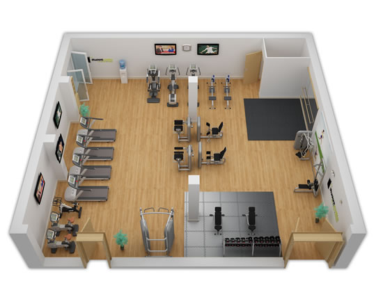 Gym Design Layout