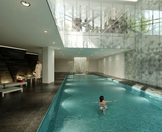 high end spa design