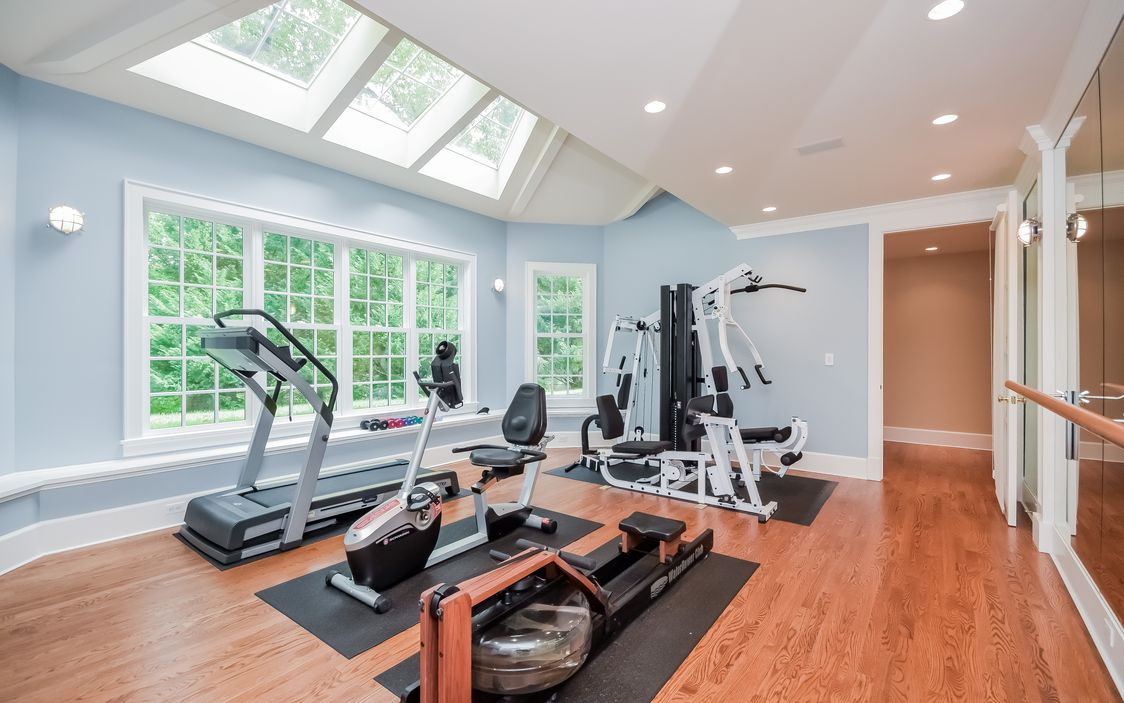 Exclusive home gym 5 tips to create an exclusive home gym - Images of home gyms ...