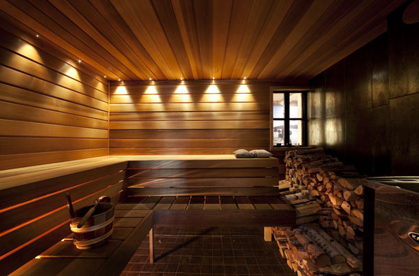 Home Spa Design Finnish Sauna