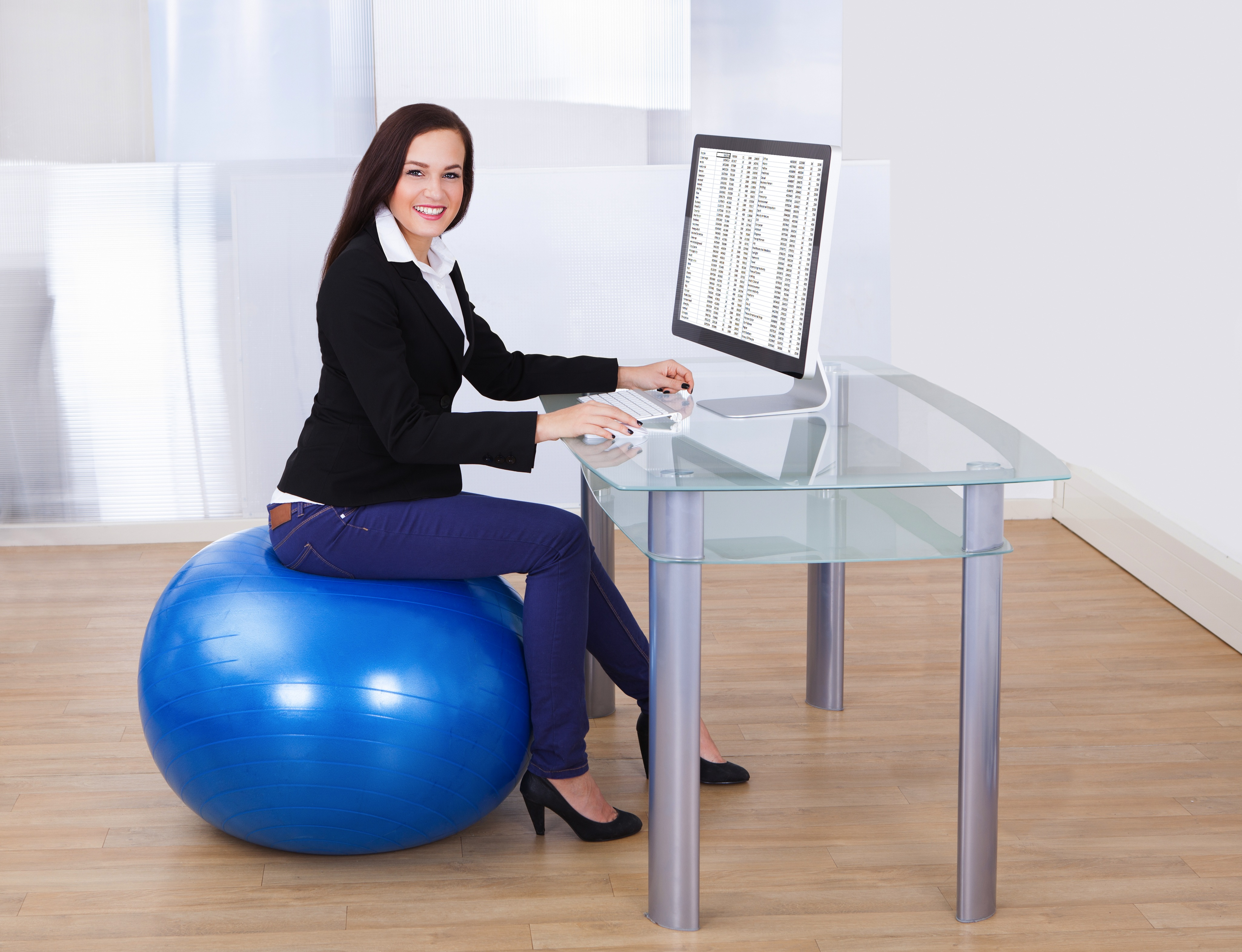 corporate office gym design 7 benefits of using fitness ball as