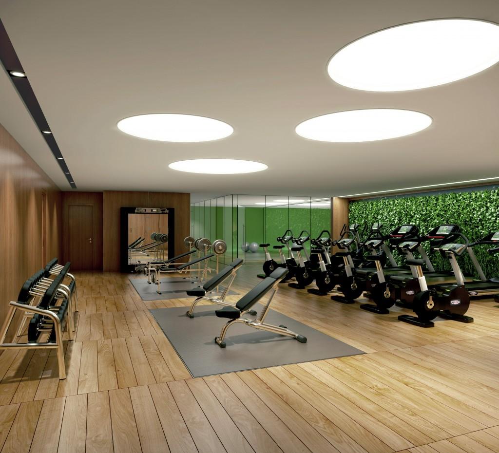 0d3ee4d9343 Wild Home Gym Design Inspirations  2016 Interior Design Highlights